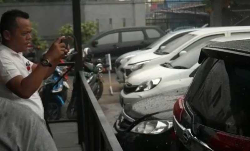 Hujan Mengguyur Sebagian Wilayah Riau