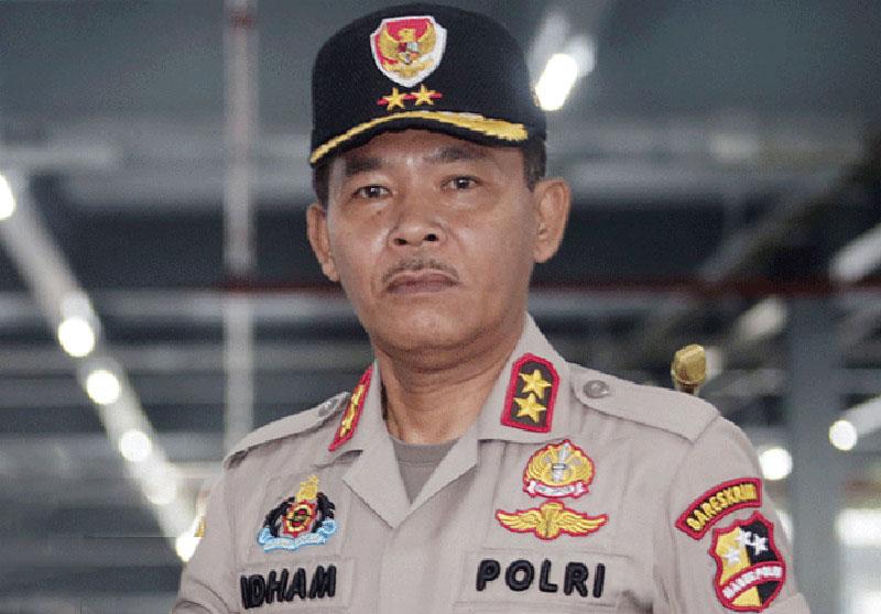 Komjen Pol Idham Aziz Gantikan Tito Karnavian