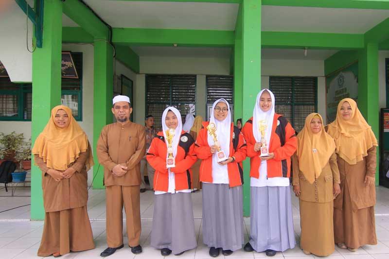 Pesantren Babussalam Raih Tiga Emas Pospeda Riau 2019