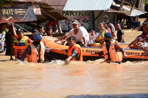 1.412 Bangunan Sekolah Rusak Akibat Banjir Kalsel