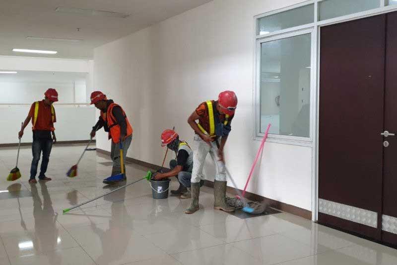 Pembangunan RS Darurat Corona Dikebut