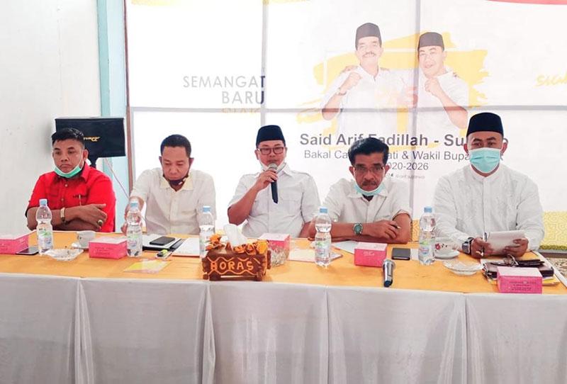 Koalisi SBS BerjuangMenangkan Arif-Sujarwo