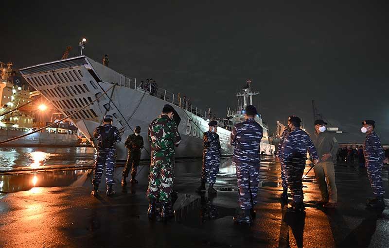 TNI Kerahkan Alutsista Bantu Misi SAR