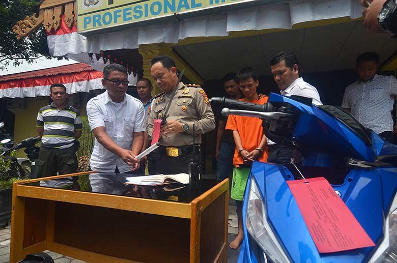 Berkas Sipir Pengedar Sabu di Sialang Bungkuk Tunggu P21