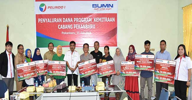 PT Pelindo Salurkan Pinjaman Kemitraan bagi 11 Pelaku UMK