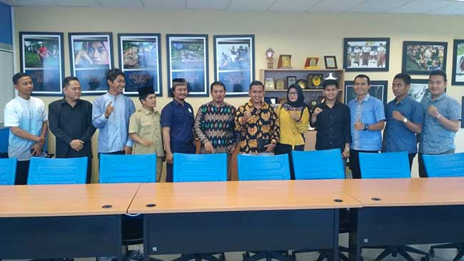 IKA Ponpes Bahrun Ulum Kunjungi Riau Pos