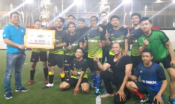 Jalin Kekompakan, Capella Honda Gelar  Turnamen Futsal
