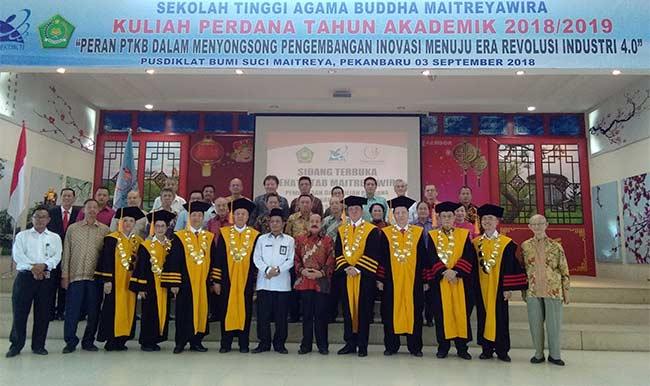STAB Maitreyawira Taja Kuliah Perdana