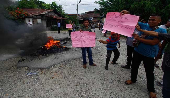 Gaji Tak Dibayar, Ratusan Karyawan PT Ricry Demo