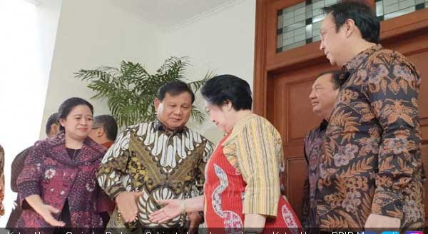 Prabowo Bertemu Megawati, Ada Kepala BIN Budi Gunawan