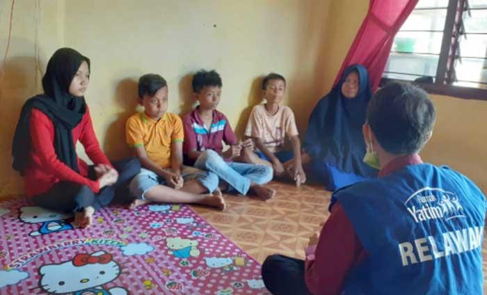 Sebulan Jadi Yatim, Empat Bersaudara Ini Kesulitan Biaya Pendidikan