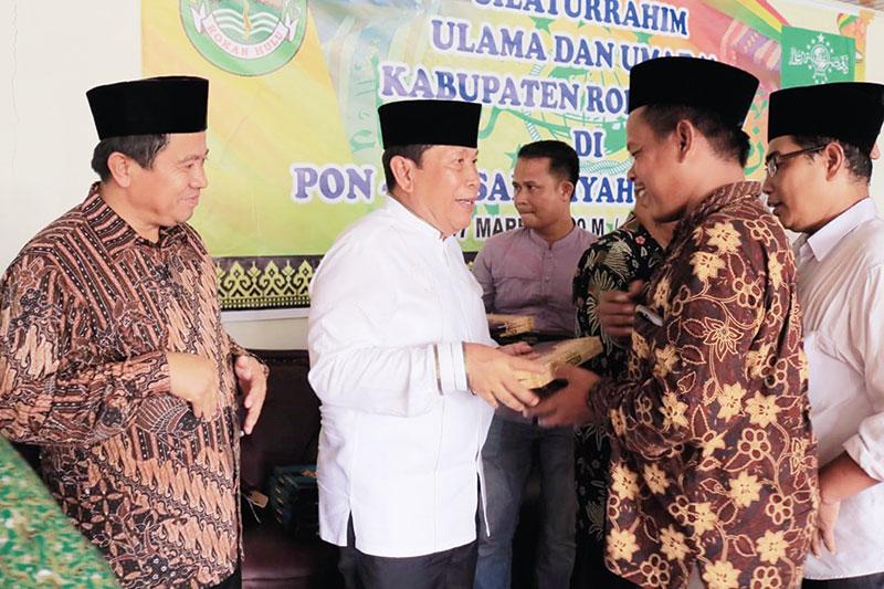 Ulama dan Umara Harus Bersatu Majukan Pembangunan