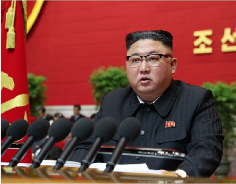 Kim Jong-un Tutup Kongres dengan Partai Buruh dengan Pertunjukan Seni