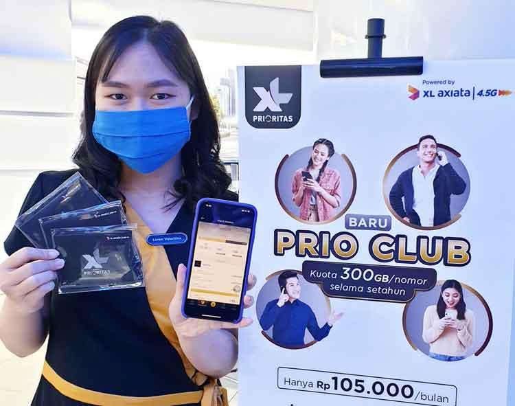 XL Luncurkan Program Berlangganan Prio Club