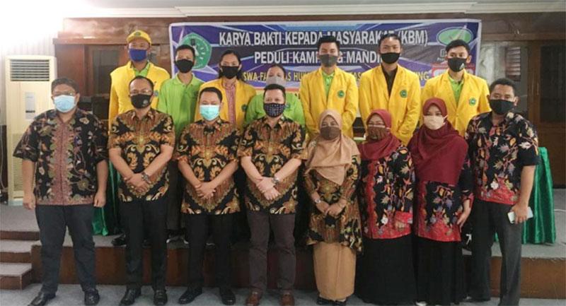 298 Mahasiswa Fakultas Hukum Unilak Ikuti KBM