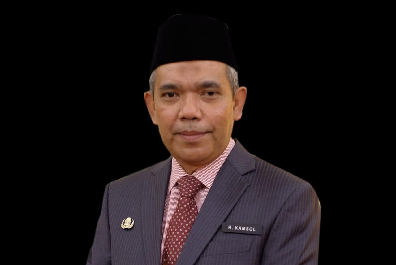 Kamsol Ditunjuk Sebagai Plh Bupati Kabupaten Meranti