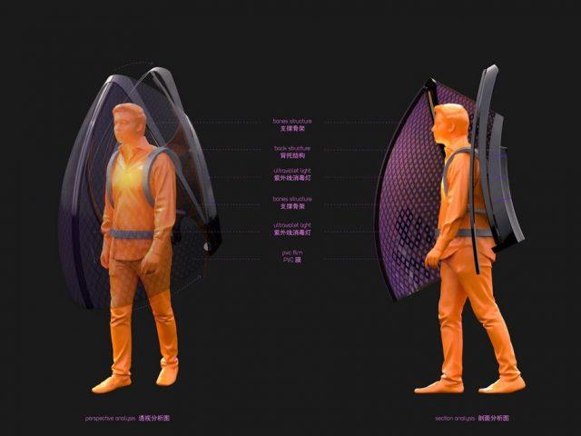 Kostum Unik untuk Halau Virus Corona dari China