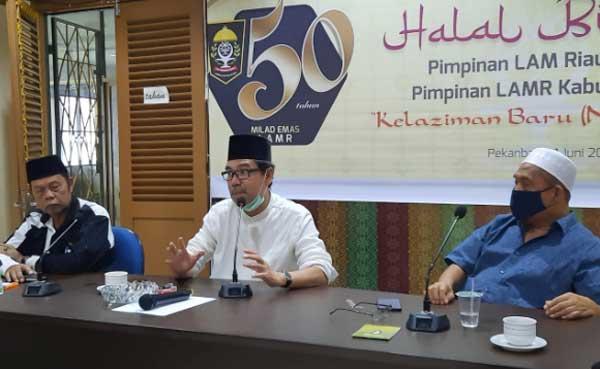 Peringatan Milad Emas LAM Riau Dilakukan Secara Virtual