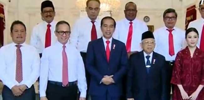Jokowi Lantik 12 Wakil Menteri, Kementerian BUMN Dapat Jatah Dua