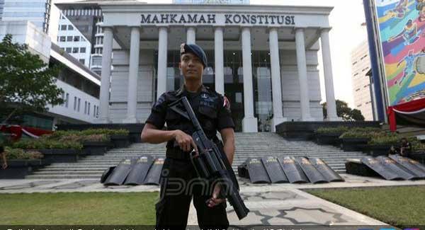 Sidang Putusan Sengketa Pilpres di MK Akan  Dikawal 13.747 Aparat TNI-Polri