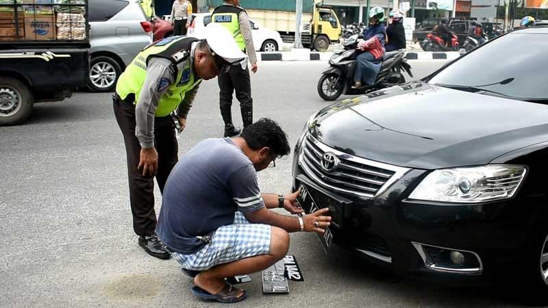 Hari Ketiga, 167 Pengendara Ditilang di Pekanbaru