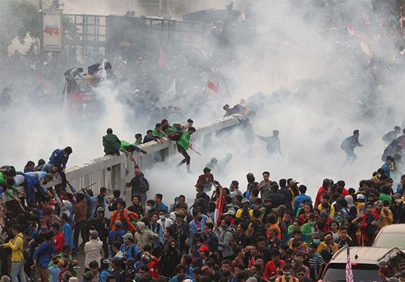 YLBHI: Lebih 50 Mahasiswa Diduga Hilang Setelah Demo di DPR