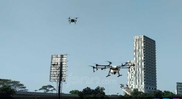 Drone Dilarang Diterbangkan di Area Bandara, Ini Alasannya