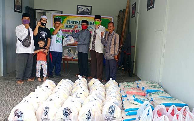 Peduli Terdampak Covid-19, Perti Riau Salurkan Sembako