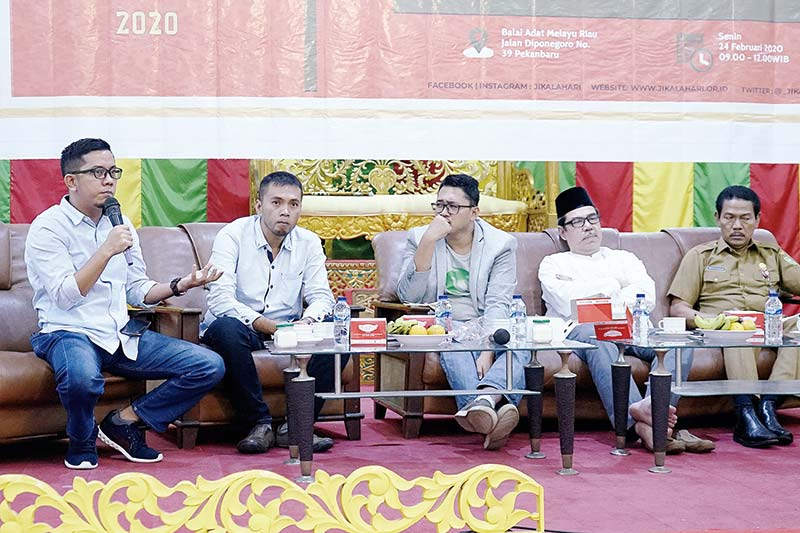 Riau Hijau Jangan Hanya Seremonial