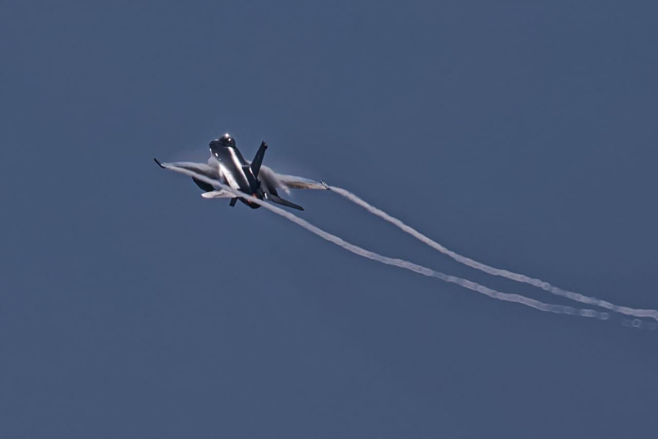 Pertempuran Udara 2 Lawan 2 Pesawat F-16 TNI AU-US Pasific Air Force