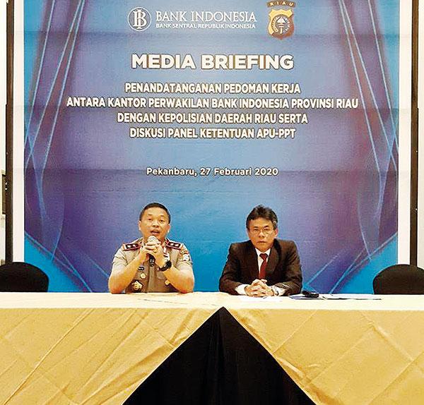 Riau Miliki Faktor Wilayah Berisiko TPPU No 5 di Indonesia