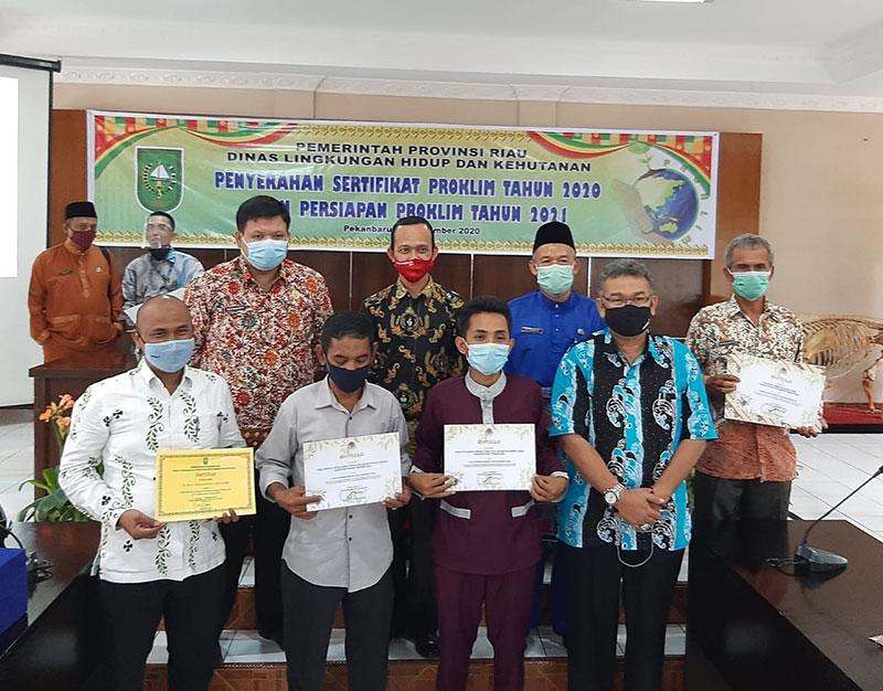 Desa Proklim Binaan PT RAPP Terima Penghargaan dari KLHK