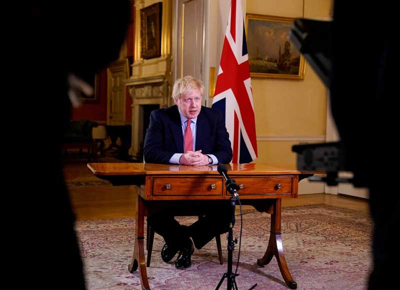 Breaking News: Perdana Menteri Inggris Positif Corona