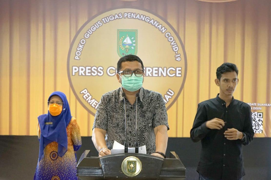 Enam Tambahan Positif di Riau, Lima dari Klaster Santri