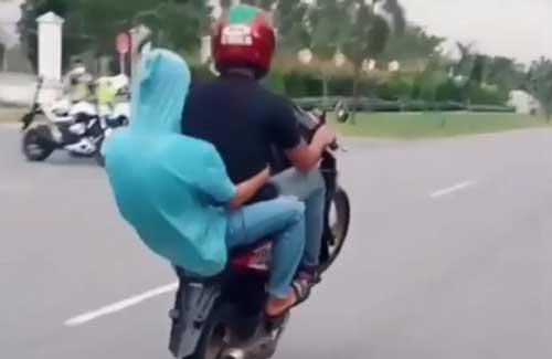 Remaja Viral yang Freestyle di Depan Polantas, Diamankan