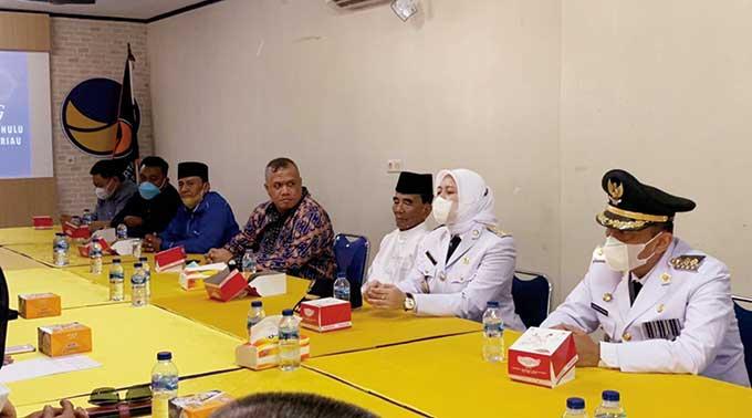 Annas Maamun, Irwan Nasir hingga Yopi Arianto Gabung ke Nasdem Riau