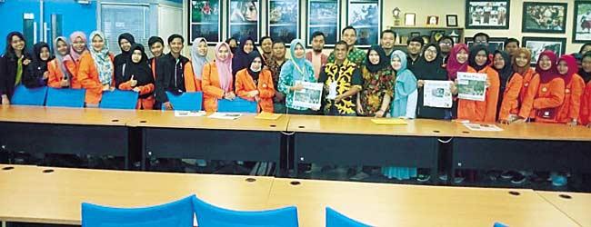 AKNP Belajar Penerapan Sistem IT di Riau Pos