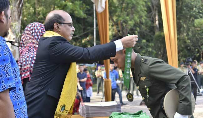 SMK Kehutanan Negeri Pekanbaru Gelar Wisuda Angkatan VII