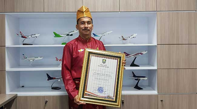 Penghargaan Ingatan Budi untuk Bandara SSK II