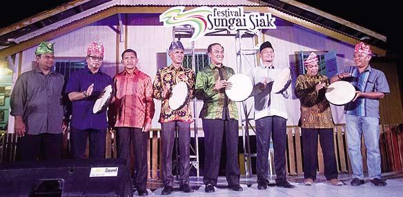 Festival Sungai Siak Berlangsung Meriah