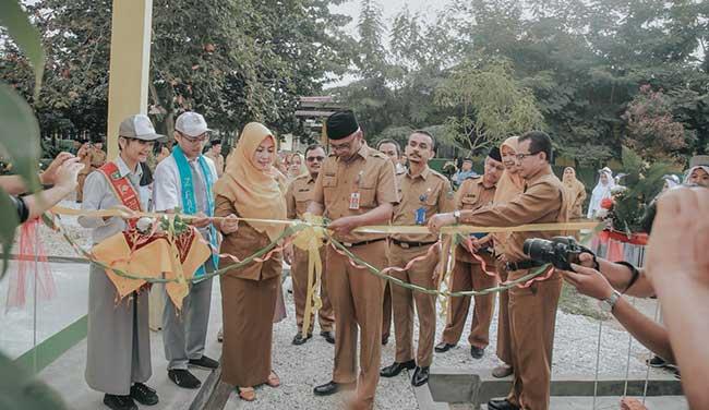 Kadisdik Riau Resmikan Gedung Baru SMAN 4