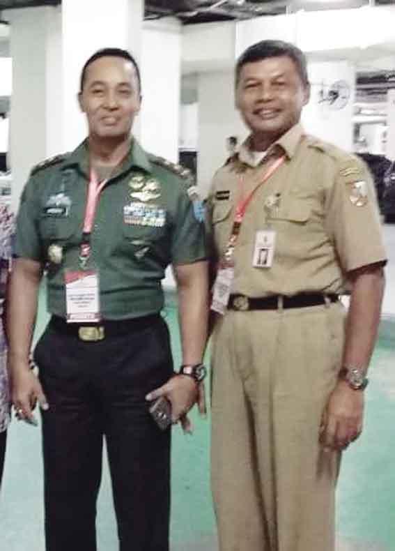 Satpol PP Pekanbaru Bangun Sinergitas dengan TNI-Polri