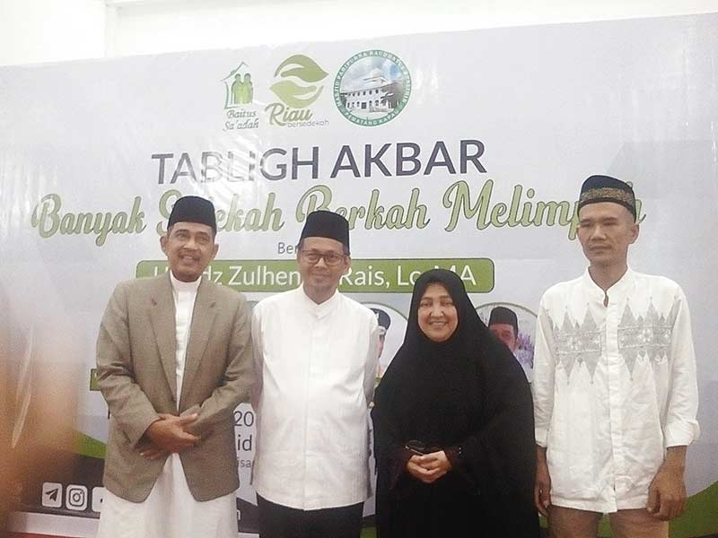 Program Riau Bersedekah Berkembang