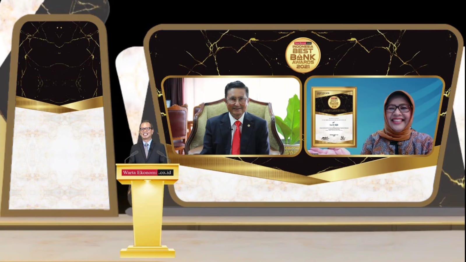 Bank BJB Kembali Raih Penghargaan sebagai Bank Terbaik di Indonesia 2021