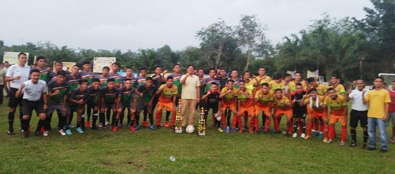 Samber FC Juara Turnamen Sepakbola Andi Putra Cup 2020 di Kuansing