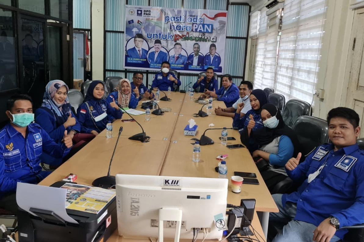 DPD PAN Inhu Gelar Rapat Partai di Gedung Dewan