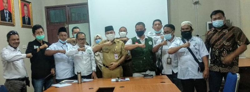 Datangi Disbun Riau,Perwakilan Petani Se-Riau Minta BOTL Dihentikan