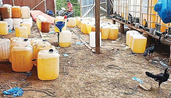 Ribuan Liter Premium Ilegal Diamankan