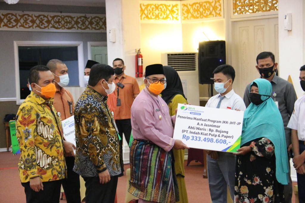 Ribuan THL Riau Dilindungi BPJS TK