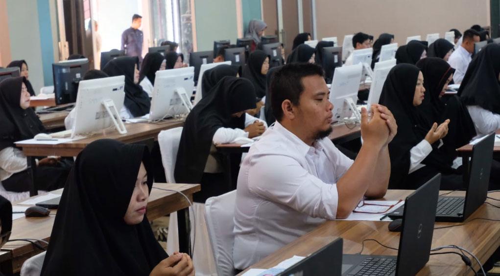 Ribuan Peserta Ikut, Hanya 302 Orang yang Lanjut SKB di Meranti
